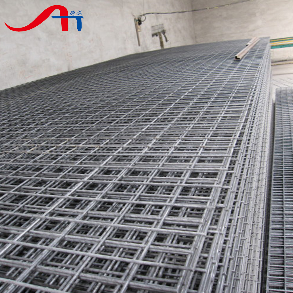 Low Carbon Reinforcing Welded Steel Bar Mesh/fabric Panels ...