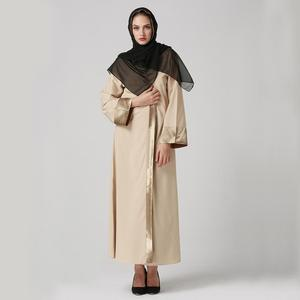 wholesale malaysia islamic clothing muslim front open casual new model in dubai abaya
