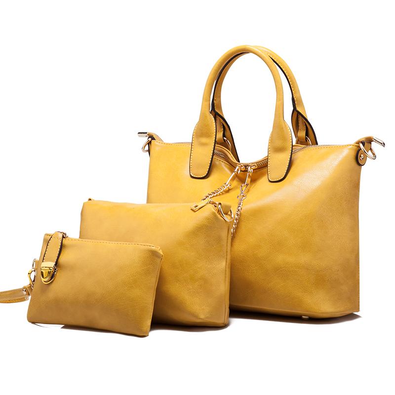 Frauen damen pu-leder dicken faden nähen schulter handtasche ...