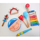 8pcs Kids Wooden Musical Instrument Set Toy