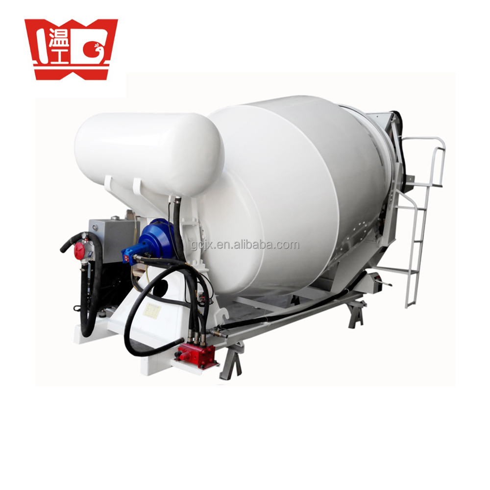3 cubic meters Diesel engine concrete mixing drum
