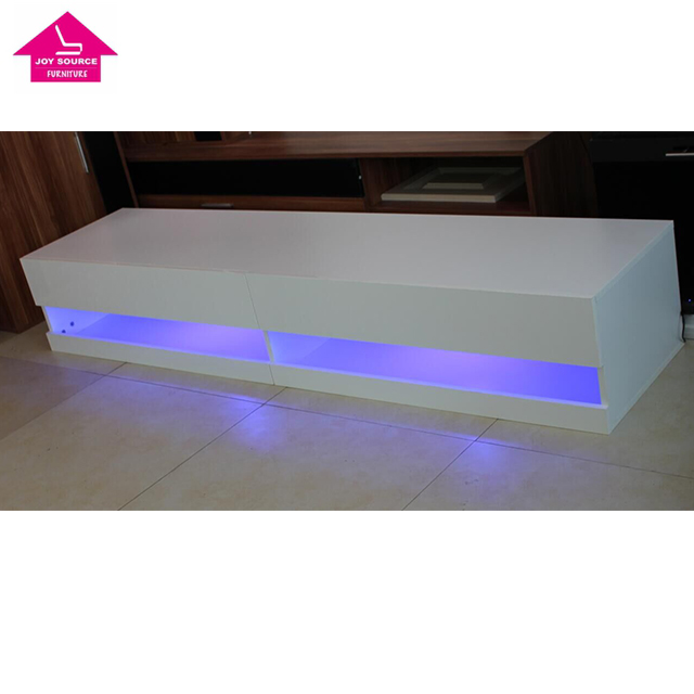 Modern LED Light TV Display Stand Furniture Design