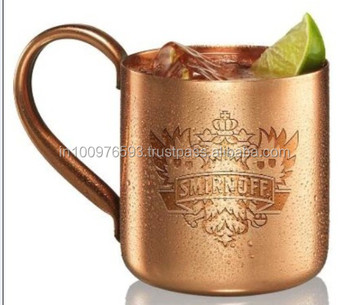 copper moscow mule mug for vodka mugs drink ware type and metal material copper mug for - Moscow Mule Copper Mug