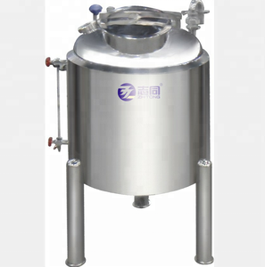 stainless steel top open diesel storage skid tank
