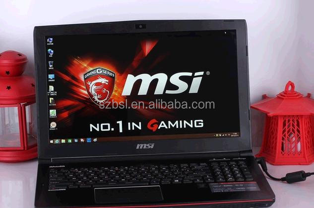 New MSI GE62VR Geforce GTX 1080 Gaming laptop