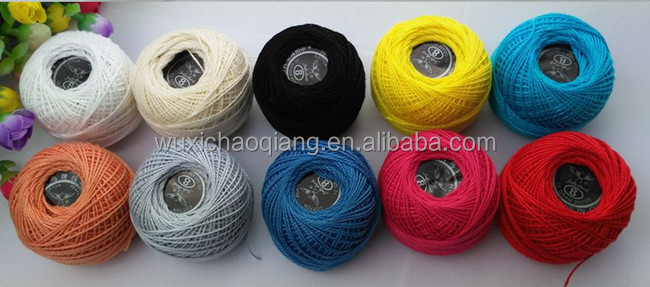 hot sell cotton yarn cotton yarn for hand knitting China sewing threads