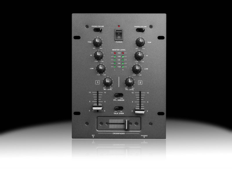Factory supply CE certificate MIX-2L professional mini audio Mixer
