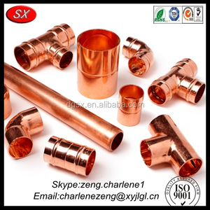 custom precision air conditioner copper pipe fittings from hardware  products manufacturer