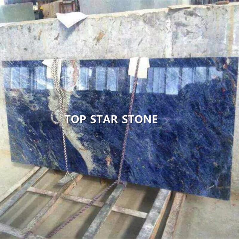 Brazil Luxury Stone Azul Macaubas Blue Sodalite Marble