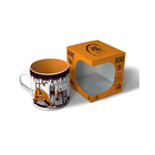 corrugated paper cup coffee mug mailer gift package box retail packaging box