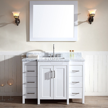 Hotel Custom Vanity Kit Case With Light Mirror And Sink