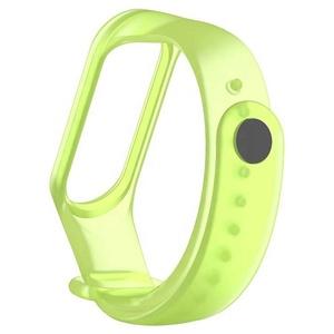 Smart Watch Strap Replacement Soft Silicone Transparent Wristband Wrist Strap for Xiaomi Mi Band 3/Xiaomi Mi Band 4