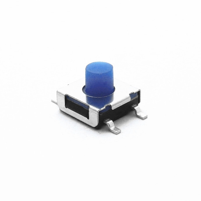 6x6mm Right Angle Momentary PCB Tactile Switch 4.3mm 5.0mm 7.0mm