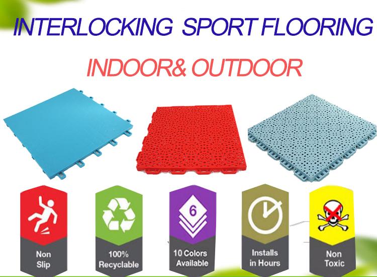 Selling rolschaatsen hof vloeren interlock floor pp tegels