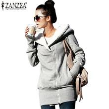 Zimní dámská fleecová bunda s kožíškem na zip s kapucí, velikost S-3XL
