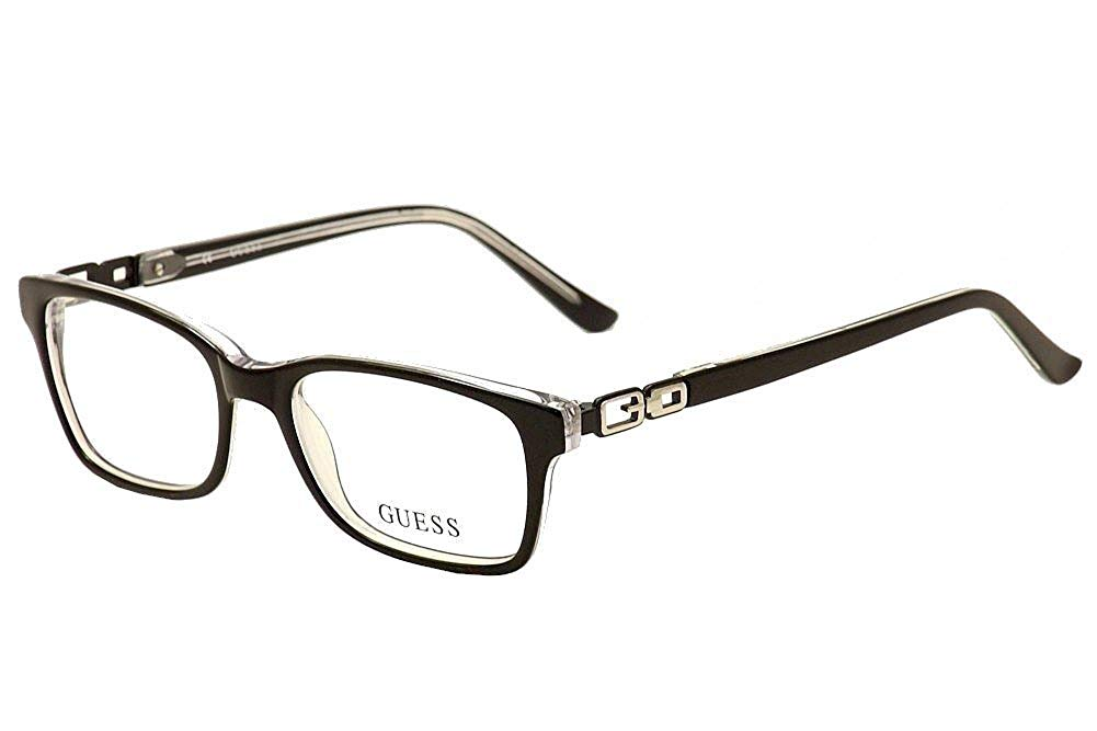 f82f474df1c Get Quotations · Eyeglasses Guess GU 9131 GU9131 003 black crystal