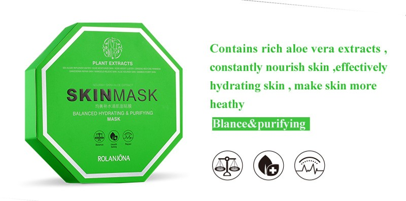 wholesale rolanjona natural plant extract firming tender anti-wrinkle facial mask OEM Face Mask Sheet