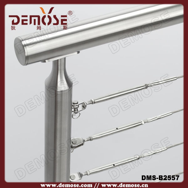 Demose Stainless Steel Newel Post Bracket For Stone Cladding