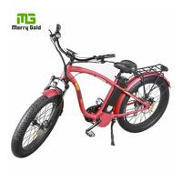 high quality CE/EN15194 approved electric fat tire beach cruiser bike /bicycles/ebike/e bicycle hummer
