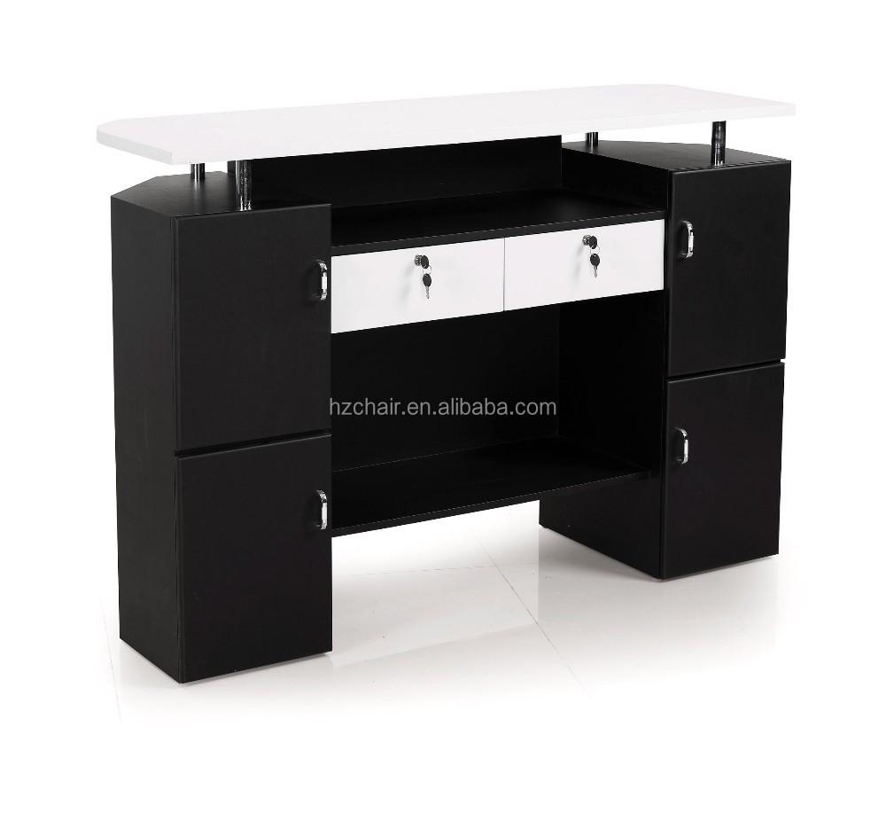 hermosos muebles de salnsaln de belleza recepcion escritorios
