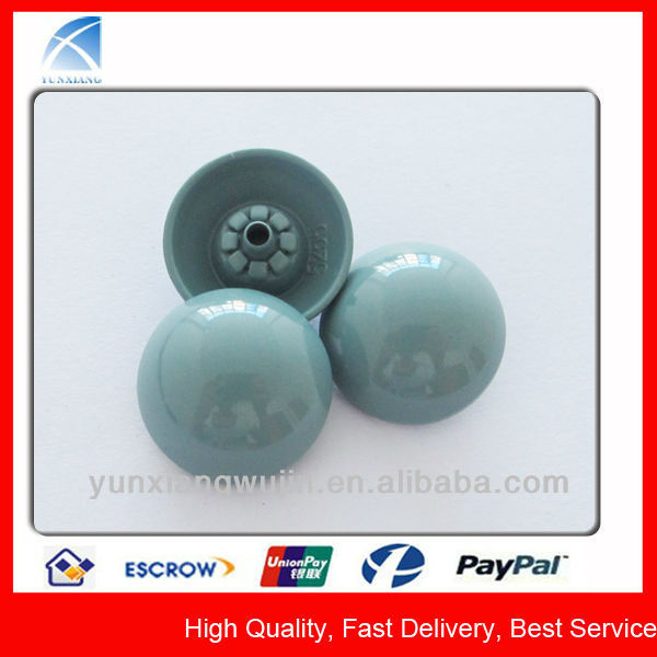 YX5255 Chrome Fancy Shiny Colored Buttons for Coat