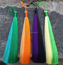 colorful silk tassels for jewelry wholesale/silk cord tassel/silk thread for tassels