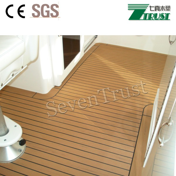 faux teak sheet synthetic teak decking for boat buy boat rubber flooring boat decking shock. Black Bedroom Furniture Sets. Home Design Ideas