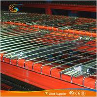 Welded Steel Wire Mesh Decking Panels of Supermarket Storage Shelf