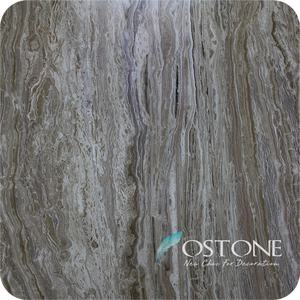 Excellent Quality Wood Grain Travertine Onyx Slab From Travertine Block Prices