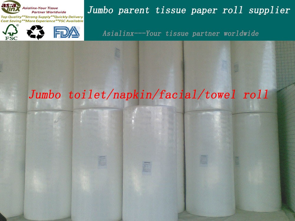 mother toilet tissue paper jumbo roll parent tissue roll supplier