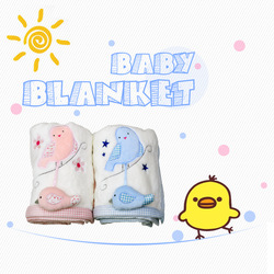 Wholesale price warm baby blanket toy new born blankets
