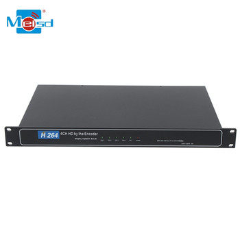 Iptv Streaming Encoder 4 channel Iptv Encoder Decoder