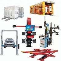 other vehicle equipment ,Garage equipment spray booth,tire changer