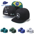 2016 Lewis Hamiltons Signature Edition Snapback Hats F1 Racing Sports Motorcycle Bones Baseball Chapeau Automobile Caps