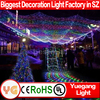 Factory Wholesale Christmas Decoration Light 10m 100leds warm white led light christmas with 8 modes waterproof light christmas