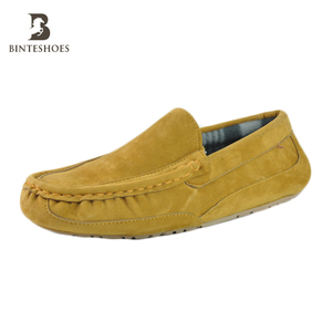 2017 New styles suede moccasins hot selling boot shoes for men slipper fashion production