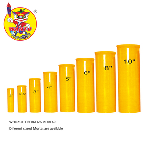 1.75 to 10 inch fireworks display shell fiberglass mortar tubes for wholesale