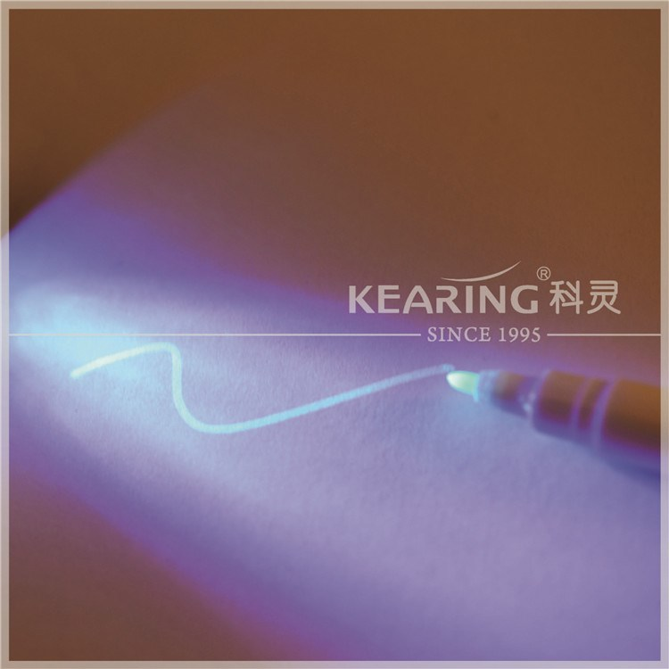 Kearing permanent invisible marker shoes secret marking pen only blue ink under UV lamp # UVP10-B