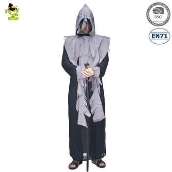Halloween Costumes Scary Men.Men Ghost Scary Robe Dark Avenger Halloween Carnival Costume Buy Ghost Costume Halloween Costume Dark Avenger Product On Alibaba Com
