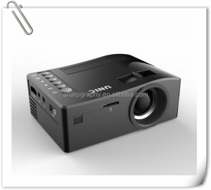 UNIC HD LED 12V Pocket Size Portable UC18 Projector Battery Powered Digital Proyector