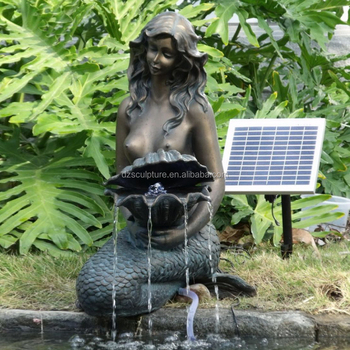 Beau Western Style Used Garden Mermaid Water Fountain