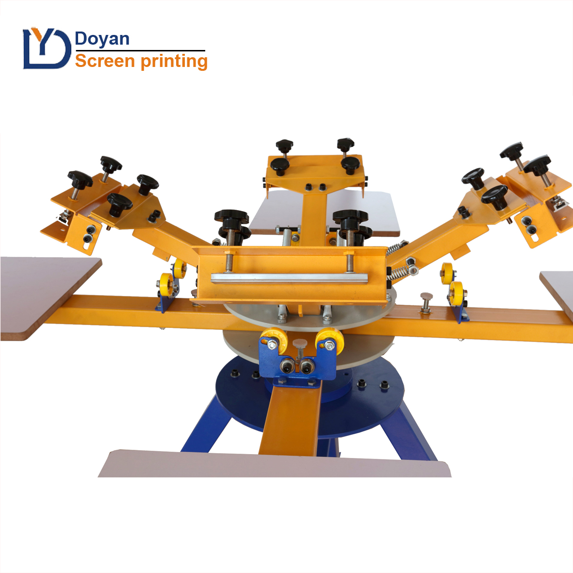 China factory cheap price 8 color 8 station screen printing machine