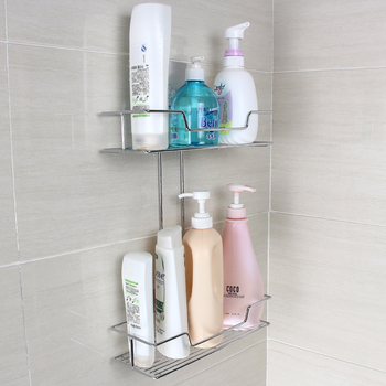 Hoge Kwaliteit Dubbele Laag Badkamer Douche Shampoo Rek. - Buy ...