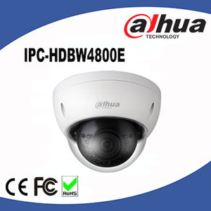 Dahua Megapixel IP Camera Wireless IPC-HDBW4800E Dahua 4K IP66 IK67 Ultra HD Network IR Mini Dome Camera