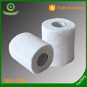 plain tissue pack core standard roll 3 ply white toilet tissue