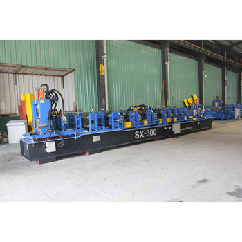 High quality automatic change c z shaped roll form machine