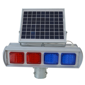 new design traffic security warning sign flashing led solar collision avoidance light