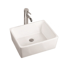 Popular sanitary ware square wash basin pictures