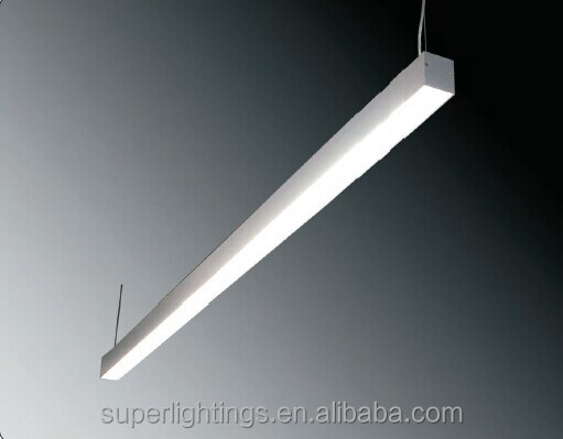 CE high power large aluminium linear led pendant light : large led pendant lights - azcodes.com