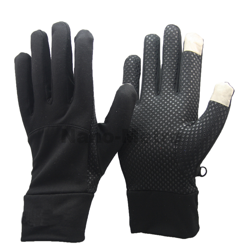 2016 NMSAFETY Black Touch Screen Gloves For Warm Winter